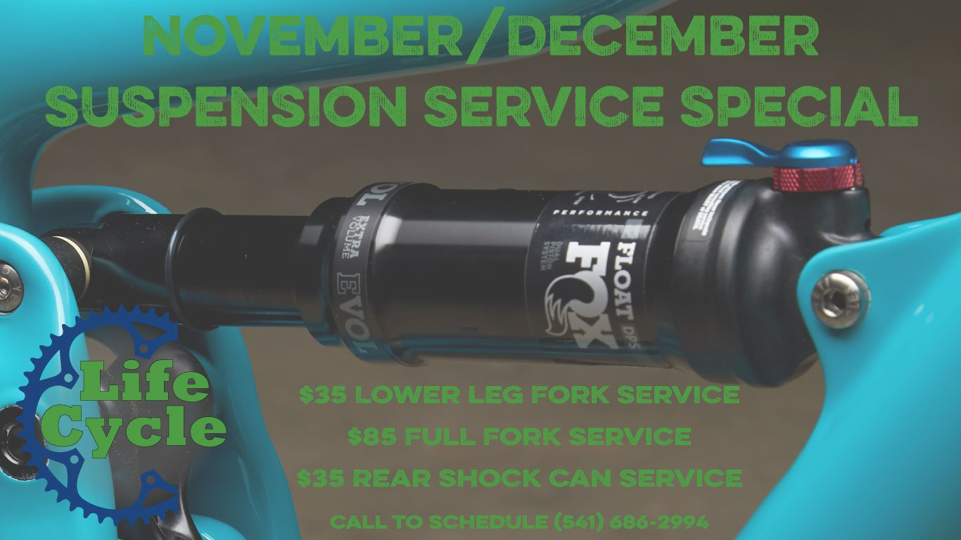 Nov/Dec Suspension Specials