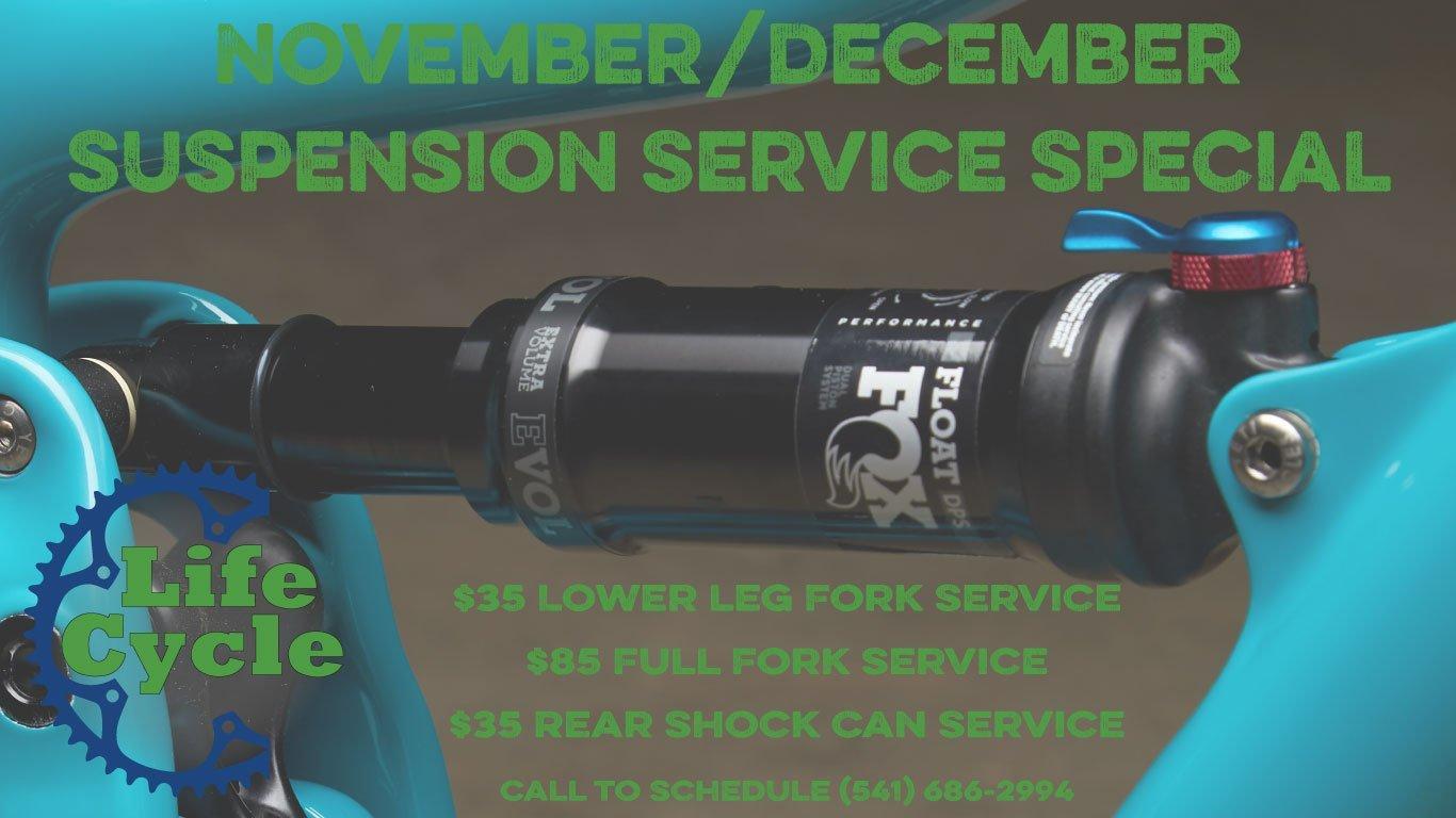 Nov/Dec Suspension Specials